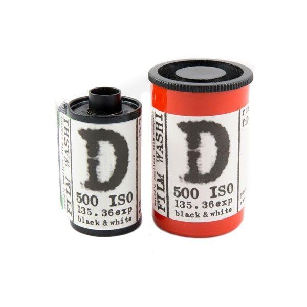 Washi D 500 Film Pelicula 35mm panchromatic black and white surveillance aerospace industry russian