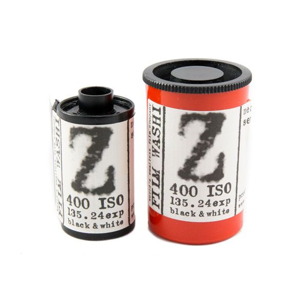 Washi Z 400 Film Pelicula 35mm near infrared black and white